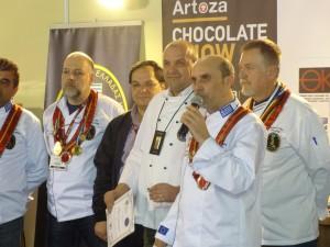 Ανακήρυξη επίτιμου μέλους της Λέσχης Αρχιζαχαροπλαστών Ελλάδος του Miki Ninic, Πρέσβη της Λέσχης Chef Association Σερβίας